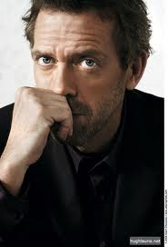 I wonder if the show's creators realized how hot Hugh Laurie would be as House?