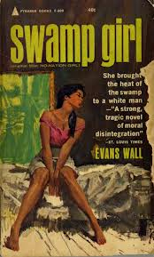 """She brought the heat of the swamp to a white man."" Early bi-racial romance? Maybe--but probably just horribly racist."