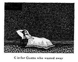I love all things Edward Gorey.