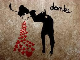 Love Sick graffiti by Banksy