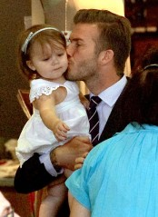becks and daughter