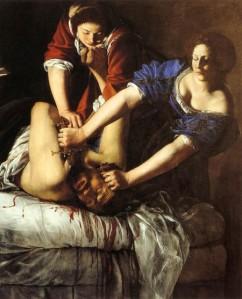 Artemisia Gentileschi's Judith