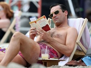 He thinks Dante's Inferno is beach reading. Hot or not?