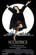 Cher won an oscar for Moonstruck.  Nicolas Cage played the wolf.  Click on the photo to buy the DVD.  Rom-com at it's finest!