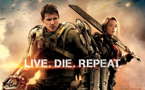 Personally, I think LIVE DIE REPEAT is a pretty good title too.