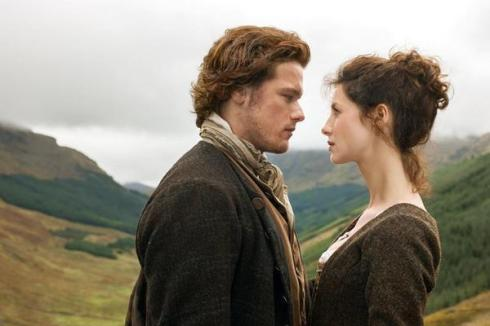 jamie and claire on the road