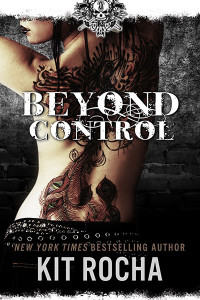Love these covers--Kit Rocha's Beyond Series.