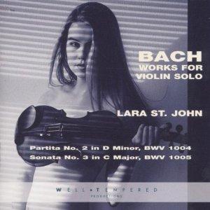 Lara St John CD Cover
