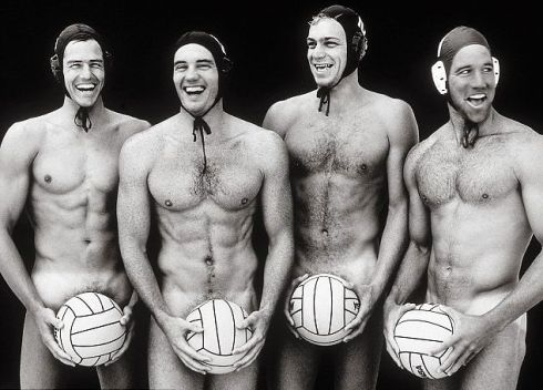 Water polo, anyone? I had no *idea* water polo players were so fit.