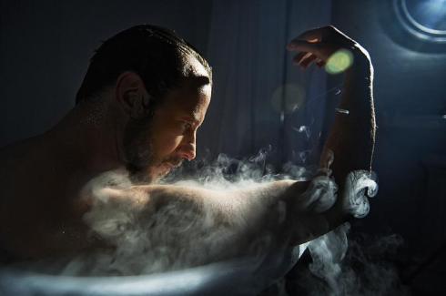 kris in the tub 2