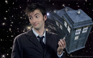 Of course, Dr. Who never winds up with anyone--because he's saving himself for *me*.