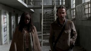 Just a walk through the prison in the quieter days of the zombie apocalypse. Aren't they cute?