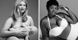 So it was plus-size models and not the breast feeding mom? Okay, apparently that's another controversy.