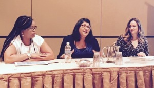 MK Schiller, Malia Dawn, Isabelle Drake on the Developing Dynamically Diverse Characters panel